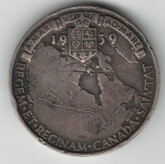Canada: 1939 George V Royal Visit Silver Medallion