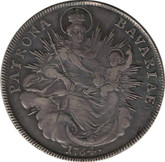 German States: Bavaria. Maximilian III Josef 1764 Taler