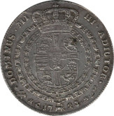 Norway: Frederick IV Krone/4 Mark 1723 HCM