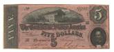 United States: 1864 $5 Confederate States Richmond