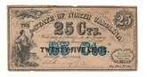 United States: 1864 25 Cents State of North Carolina