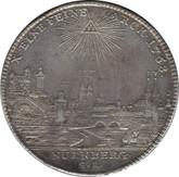 German States: Nurnberg: 1768-SR Silver Free City Taler EF40