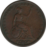 Great Britain: 1826 Penny VF20