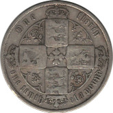 Great Britain: 1871 Silver Florin F12