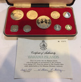 Bahamas: 1971 Proof Coin Set