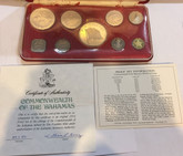 Bahamas: 1974 Proof Coin Set