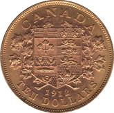 Canada: 1912 $10 Gold Coin