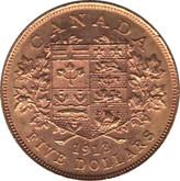 Canada: 1913 $5 Gold Coin