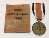 Germany: War Merit Medal with Envelope