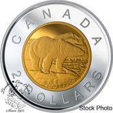 Canada: 2019 $2 Proof Silver Coin with Selective Gold Plating