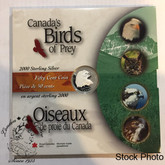 Canada: 2000 50 Cents Birds of Prey Bald Eagle Coin