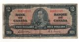 Canada: 1937 $2 Bank Of Canada Banknote BC-22b Lot#21