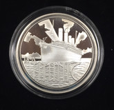 Royal Mint Harland & Wolff RMS Titanic Sterling Silver Proof Medal