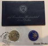 United States: 1972 $1 Eisenhower Uncirculated Silver Dollar Coin