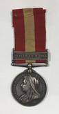 Canada: Fenian Raid Medal 1870 Pte. L. Buck. Villa Nova R. Co.