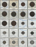 Straits Settlements & East India Company Lot of 20 Coins