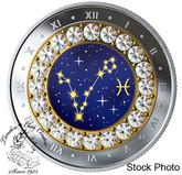 Canada: 2019 $5 Zodiac Series: Pisces Pure Silver Coin