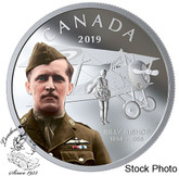 Canada: 2019 $20 Billy Bishop 1 oz. Pure Silver Coloured Coin
