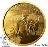 Canada: 2019 $200 Canadian Moose 1 oz. 99.999% Pure Gold Coin