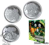 Canada: 2019 Dinosaurs of Canada 25-Cent 3-Coin Set