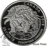 Canada: 2019 Dinosaurs of Canada Edmontonia longiceps 25 Cent Coin