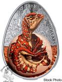 Canada: 2019 $20 Hatching Hadrosaur 1 oz. Pure Silver Glow-in-the-Dark Coin