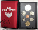 Canada: 1988 Ironworks Eagle Premier Special Edition Double Dollar Set