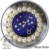 Canada: 2019 $5 Zodiac Series: Taurus Fine Silver Coin