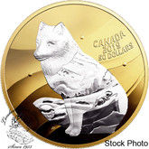 Canada: 2019 $50 My Inner Nature: Arctic Fox Fine Silver Coin
