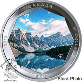 Canada: 2019 $30 Peter McKinnon Photo Series: Moraine Lake Fine Silver Coin
