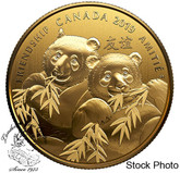 Canada: 2019 $8 Pandas: Golden Gift of Friendship Fine Silver Coin