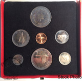 Canada: 1967 Specimen Coin Set with Medallion in Red RCM Display Case