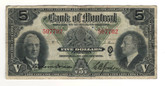 Canada: 1938 $5 Banknote - Bank of Montreal 507702