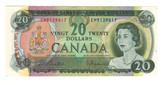 Canada: 1969 $20 Banknote Bank of Canada Lot#3