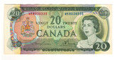 Canada: 1969 $20 Banknote Bank of Canada Lot#7