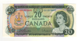 Canada: 1969 $20 Banknote Bank of Canada Lot#9