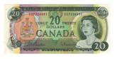 Canada: 1969 $20 Banknote Bank of Canada Lot#11