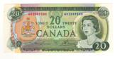 Canada: 1969 $20 Banknote Bank of Canada Lot#12