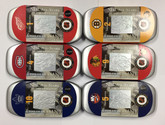 Canada: 2001 NHL All-Stars Stamp & Medallion Sets *6 Pieces*