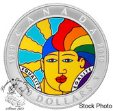 Canada: 2019 $10 Equality Pure Silver Coin