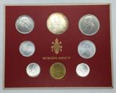 Vatican City: 1967 Coin Set (8 Coins)