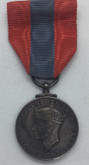 Great Britain: Faithful Service Medal King George VI