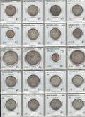 Netherlands: Coin Lot (20 Pieces) Includes Silver Coins