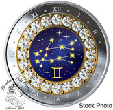 Canada: 2019 $5 Zodiac Series: Gemini Pure Silver Coin