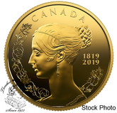 Canada: 2019 $10 200th Anniversary of the Birth of Queen Victoria Pure Gold Coin