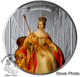 Canada: 2019 $50 200th Anniversary of the Birth of Queen Victoria 5 oz. Pure Silver Coloured Coin
