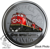 Canada: 2019 25 Cent 100th Anniversary of CN Rail Coin