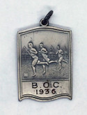 Canada: Beaches Olympic Club 1936 Silver Medal Sterling