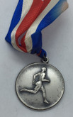 Canada: 1938 Beaches Olympic Club 2nd Place 100 Yds. 18 Years Silver Medal