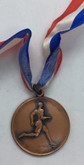 Canada: 1938 Beaches Olympic Club 100 Yds. 18 Years 3rd Place Bronze Medal